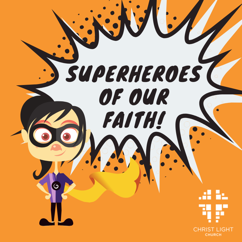 <strong>Christ Light Kids.</strong> Exploring the lives of real heroes.